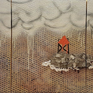 (CreativeWork) Ship to Port  by Sam Patterson-Smith. mixed-media. Shop online at Bluethumb.