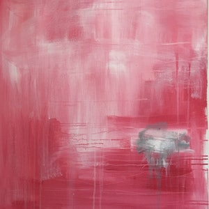(CreativeWork) Rain Cloud by Sonia Dickson. arcylic-painting. Shop online at Bluethumb.