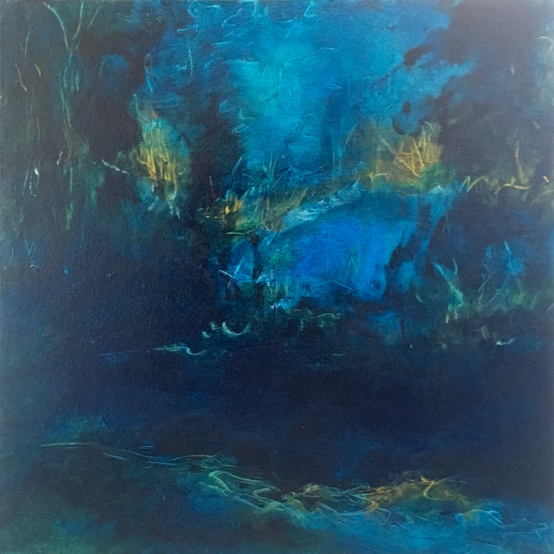 (CreativeWork) Winters Glimpse #1 by Vania Lawson. Oil Paint. Shop online at Bluethumb.