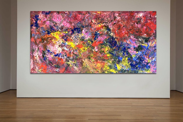 (CreativeWork) Turbulence Times by Estelle Asmodelle. Acrylic Paint. Shop online at Bluethumb.