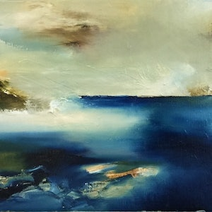 (CreativeWork) Journey Part VI by Joanne Duffy. oil-painting. Shop online at Bluethumb.