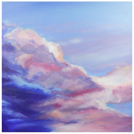 (CreativeWork) Sunset #1 by Tom Parsons. Oil Paint. Shop online at Bluethumb.