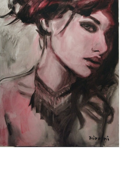 (CreativeWork) BEAUTIFUL AND MYSTERIOUS by Hiromi Andrew. oil-painting. Shop online at Bluethumb.