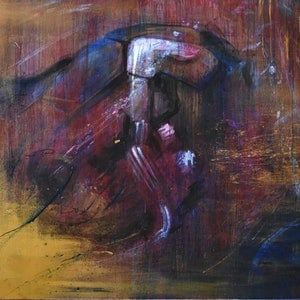 (CreativeWork) Genesis by Billy Shannon. arcylic-painting. Shop online at Bluethumb.