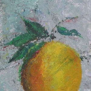 (CreativeWork) orange by Anne-Marie Jones. arcylic-painting. Shop online at Bluethumb.
