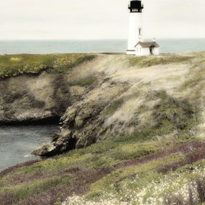 (CreativeWork) Coastal Beacon by Debbie Giles. drawing. Shop online at Bluethumb.