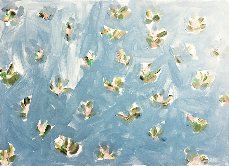 (CreativeWork) Softly Softly by Donna Christie. Acrylic Paint. Shop online at Bluethumb.