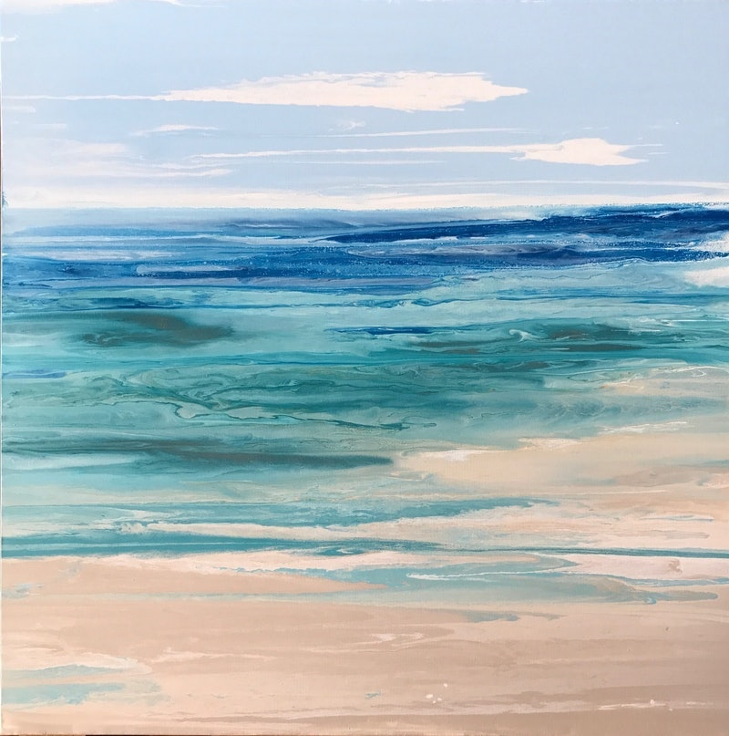 Easy Ocean Pictures To Paint
