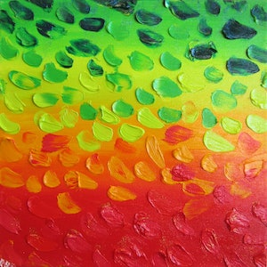 (CreativeWork) Autumn by Rona Barugahare. oil-painting. Shop online at Bluethumb.