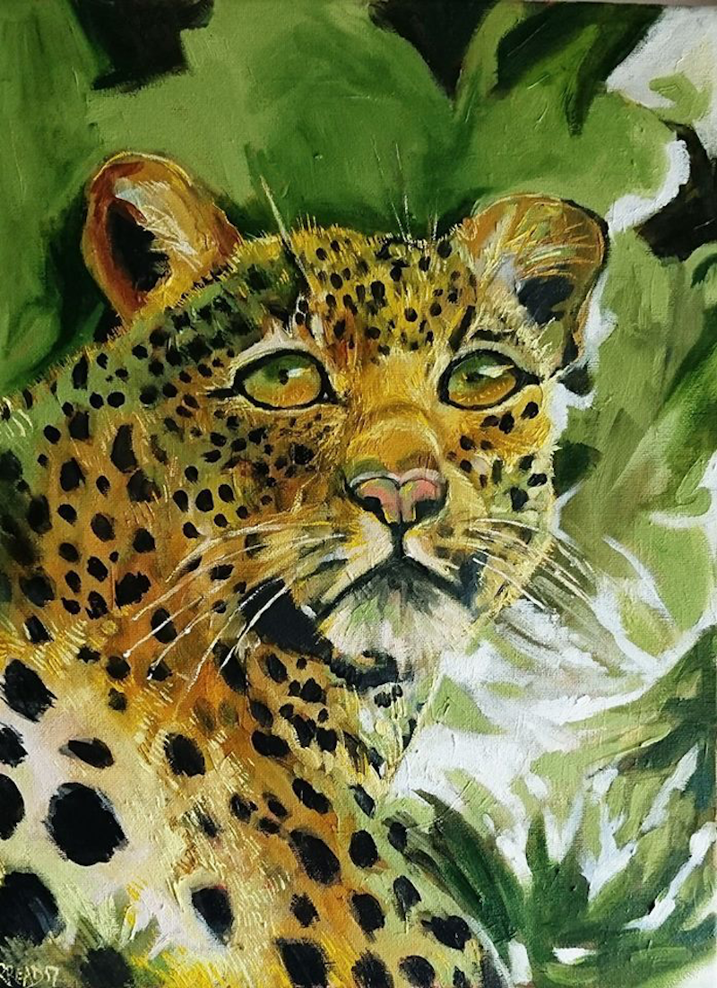 (CreativeWork) Spotted by Rebecca Read. Oil Paint. Shop online at Bluethumb.