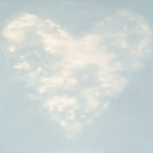 (CreativeWork) Hearty Clouds by Donna Christie. oil-painting. Shop online at Bluethumb.
